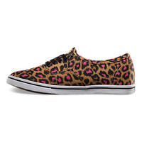 Vans Leopard Authentic Lo Pro (black/magenta)