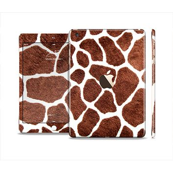 The Real Giraffe Animal Print Full Body Skin Set for the Apple iPad Mini 3