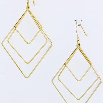 Kite Layered Earrings