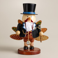 Mr. Turkey Wooden Nutcracker - World Market