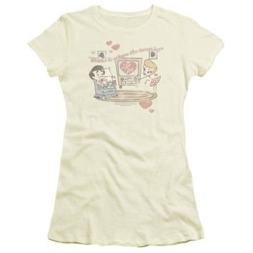 I Love Lucy - Home Is Where The Heart Is Short Sleeve Junior Sheer