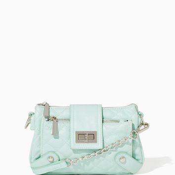 Quilted Queen Crossbody Bag | Handbags | charming charlie