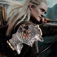 The Hobbit Lord of the Rings Aragorn Crown Ring For Men and Women