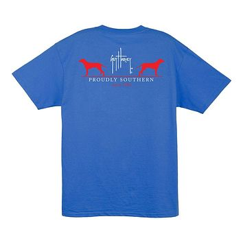 Fetch T-Shirt in Ocean Blue by Guy Harvey