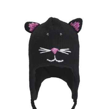 Kiki The Kitty Kids Peruvian Knit Hat