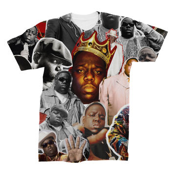 The Notorious B.I.G. (Biggie Smalls) Photo Collage T-Shirt