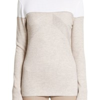 St. John Collection Tech Rib Knit Sweater | Nordstrom