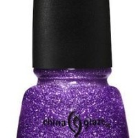 China Glaze Luminous Lavender 80560 Crackle Glitter Nail Polish
