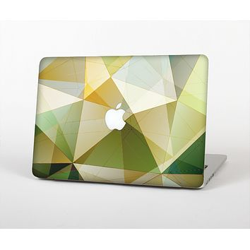 The Green Geometric Gradient Pattern Skin for the Apple MacBook Air 13""