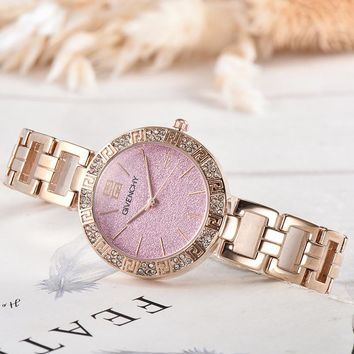 8DESS Givenchy Woman Men Fashion Quartz Movement Wristwatch Watch