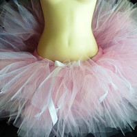 Pinkalicious Trashy Tutu - Sewn and super sassy - multi layered tulle and netting  - for cosplay, housework,