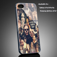 American Horror Story Collage - Print on cover for iPhone and iPod case