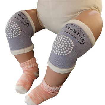 2019 New Baby Knee Pads Crawling Protector Cotton Kids Kneecaps Children Cartoon Anti Slip Grils Boys Leg Warmers 6-18M