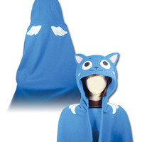 *NEW* Fairy Tail: Happy Hoodie Blanket by GE Animation