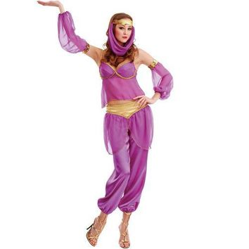 Steamy Genie Adult Costume, L