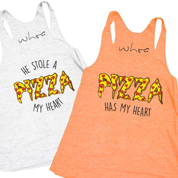 He Stole a Pizza My Heart / Pizza Has My Heart Tank