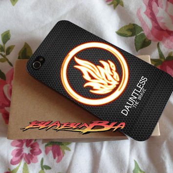 Divergent Dauntless The Brave Custom for iPhone 4/4s Case, iPhone 5/5s Case, iPhone 5C Case, Samsung S3 i9300 Case, Samsung S4 i9500 Case