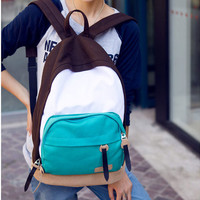 Leisure Multicolor Canvas Backpacks