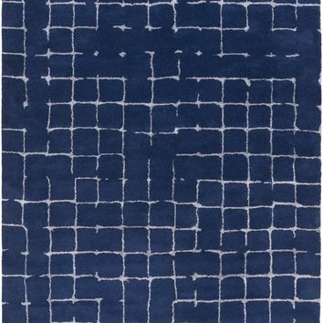 Pursuit Area Rug Blue