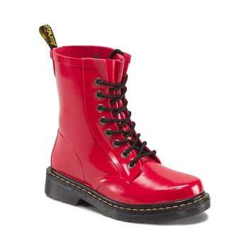 Womens Dr. Martens Drench 1460 Boot, Red | Journeys Shoes