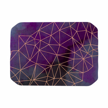 "Cafelab ""Watercolor Storm"" Purple Gold Place Mat"