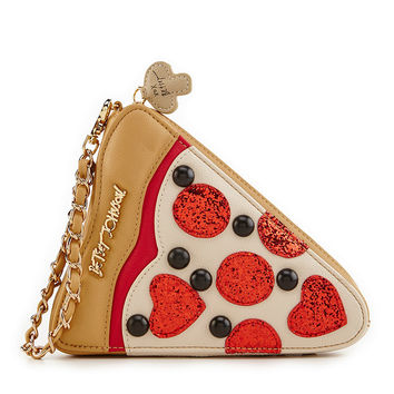 Betsey Johnson Pizza Wristlet | Dillards