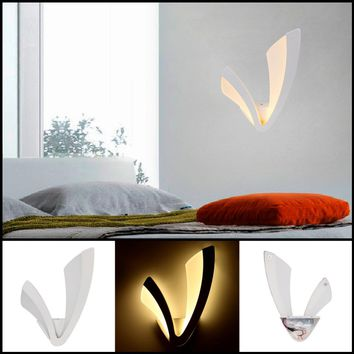 Led Modern Wall Lamp Acrylic Home Decoration Sconce Wall lamp For Bedroom Bathroom Indoor Lighting Wall Light Fixtures