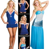 A Tail of Two Seas, Sailor Mermaid Costume - Sexy Costumes for Women