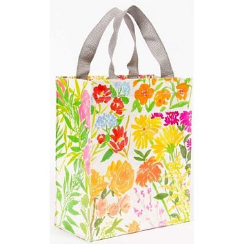 Flower Garden Handy Tote in Recycled Material