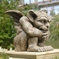 SheilaShrubs.com: Emmett the Gargoyle Sculpture CL0883 by Design Toscano: Garden Statues