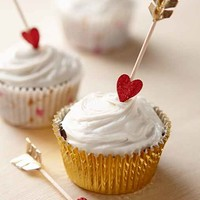Valentine's Day Cupcake Decor Kit- Multi One