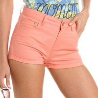 Refuge High Rise Shortie: Charlotte Russe