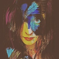 """""""Chrysalis Abstract Portrait"""" - Art Print by Galen Valle"""
