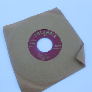 Vintage Rare Vinyl  45 RPM - The Four Lads - No Not Much! - I'll Never Know - 45 RPM 1955