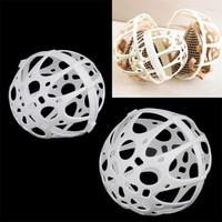 1Pc White Ball Bubble Bra Saver Hot Washers Laundry Washing Double Machine Protector Kit