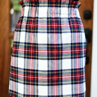 Cheery And Bright Skirt in Ivory | Monday Dress Boutique