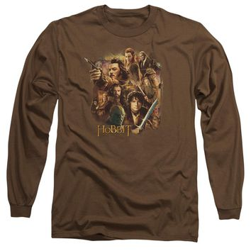 Hobbit - Middle Earth Group Long Sleeve Adult 18/1 Officially Licensed Shirt