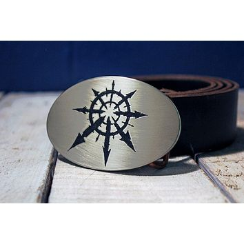Chaos Space Marines Warhammer 40K Belt Buckle