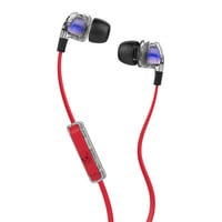 Skullcandy Smokin' Buds 2 Earbuds Spaced Out/Clear/Black One Size For Men 24303875001