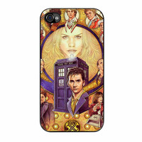 Tardis Doctor Who Cover iPhone 4 Case