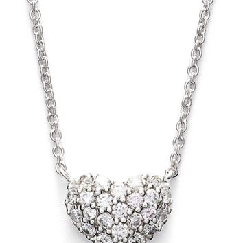 Women's Bony Levy Diamond Pave Heart Pendant Necklace (Limited Edition) (Nordstrom Exclusive)