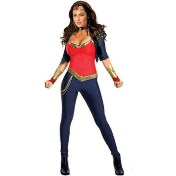 Wonder Woman Deluxe Adult Costume | (X-Small)