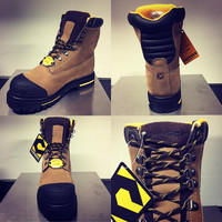 Chinook Brown Steel Toe Tarantula Boots