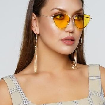 Paparazzi Sunglasses - Yellow