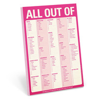 All Out Of Pad in Pink