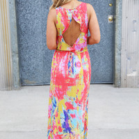Diamond Back Maxi {Coral}