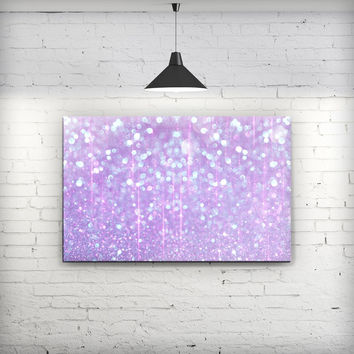 Pink Unfocused Orbs of Light  - Fine-Art Wall Canvas Prints