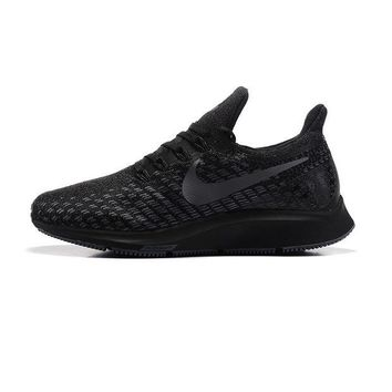 ONETOW Best Sale Online Nike Air Zoom Pegasus All Out Flyknit Black Black