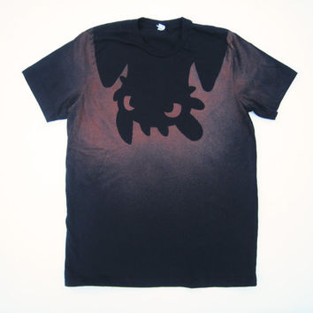 Upside down Toothless from How to Train Your Dragon t-shirt (men's)