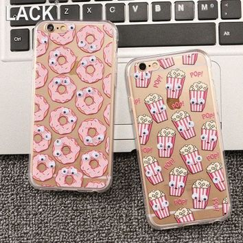 Newest Fashion Cute Cartoon Movement Of Eyes Case For Apple Iphone 6 Case Back Skin Protective Cover Phone Case For Iphone6 4.7'
